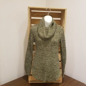 Rue 21 Green Cowl Neck Sweater Size XS